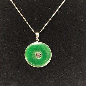 Jewelry - Jade Pendant 14k gold